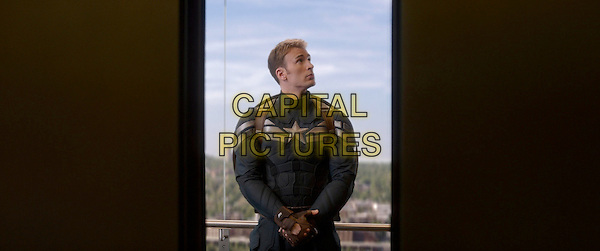 Chris Evans<br /> in Captain America: The Winter Soldier (2014) <br /> *Filmstill - Editorial Use Only*<br /> CAP/FB<br /> Image supplied by Capital Pictures