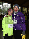 Kim Britton and Jamie Staudt who took part in Erin's Run. Photo:Colin Bell/pressphotos.ie