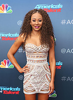 PASADENA, CA - MARCH 12: Mel B, at America&rsquo;s Got Talent  Kickoff at The Pasadena Civic Auditorium in Pasadena, California on March 12, 2018. <br /> CAP/MPI10<br /> &copy;MPI10/Capital Pictures