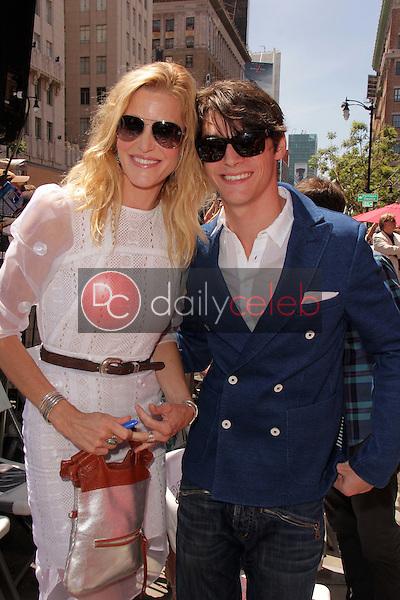 Anna Gunn, RJ Mitte<br /> at the Bryan Cranston Star on the Hollywood Walk of Fame Ceremony, Hollywood, CA 07-16-13<br /> David Edwards/Dailyceleb.com 818-249-4998