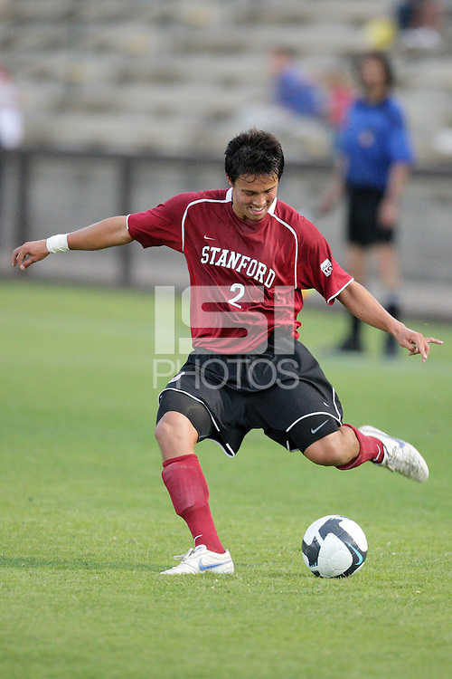 STANFORD, CA - AUGUST 25:  Clayton Holz of the Stanford Cardinal during Stanford's 0-0 tie with the St. Mary's Gaels at Laird Q. Cagan Stadium on August 25, 2009 in Stanford, California.
