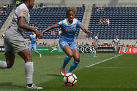 Bridgeview, IL - Saturday May 27, 2017: Casey Short during a regular season National Women's Soccer League (NWSL) match between the Chicago Red Stars and the North Carolina Courage at Toyota Park. The Red Stars won 3-2.