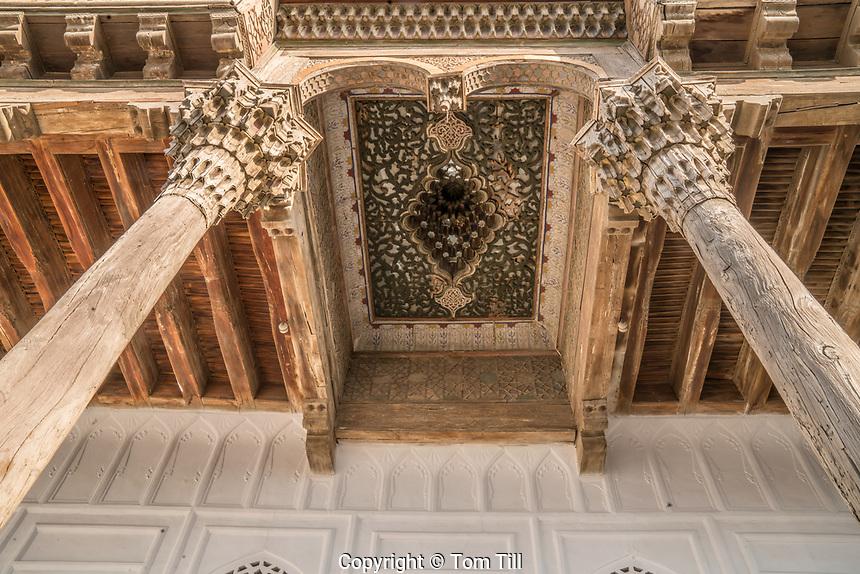 Detail of Friday Mosque, Bukhara, Uzbekistan