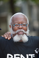 "Jimmy McMillan of ""The Rent is Too Damn High"" party at the West Indian American Day Parade held on Monday, September 5, 2011 in Crown Heights, Brooklyn, New York."