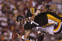 26 August 2005:  Ben Roethlisberger.<br />