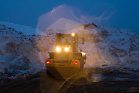 A Night at the Snow Farm<br /> Boston's largest snow farm, South Boston, MA.