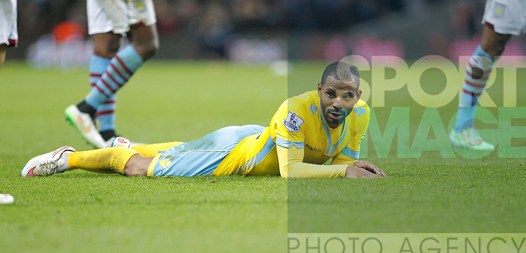 Jason Puncheon of Crystal Palace - Barclays Premiership Football - Aston Villa v Crystal Palace - Villa Park  Birmingham - Season 14/15 - 01/01/2015 <br /> Photo: Malcolm Couzens/Sportimage