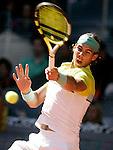 Spain's Rafael Nadal during Madrid Open final match. May 17, 2009. (ALTERPHOTOS/Alvaro Hernandez)