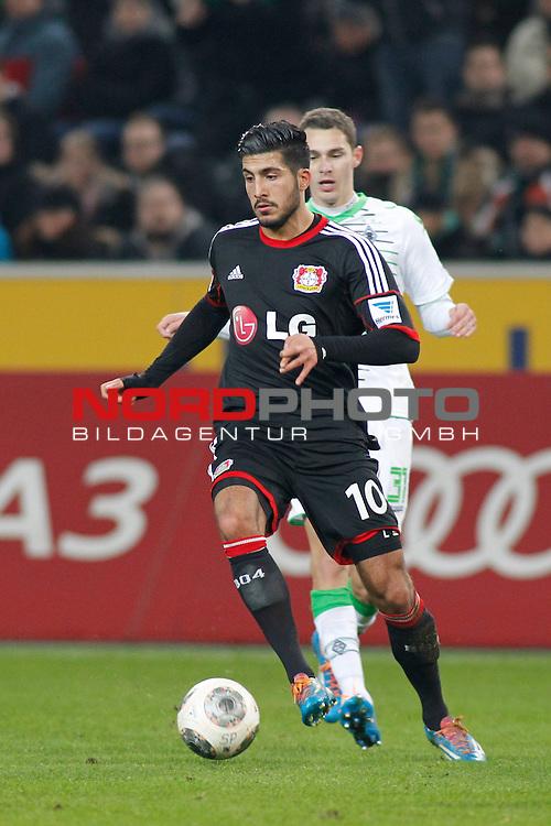 07.02.2014, BorussiaPark , Moenchengladbach, GER, 1.FBL, Borussia Moenchengladbach vs Bayer Leverkusen, im Bild: Emre Can #10 (Bayer 04 Leverkusen)<br /> <br /> Foto &copy; nordphoto / Grimme