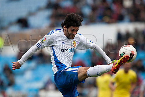 04.03.2012, Zaragoza,Spain, Real Zaragoza 2 - 1 Villarreal, Real Zaragozas  Lafita in action during the Spanish League match played between Real Zaragoza and Villarreal at La Romareda Stadium.