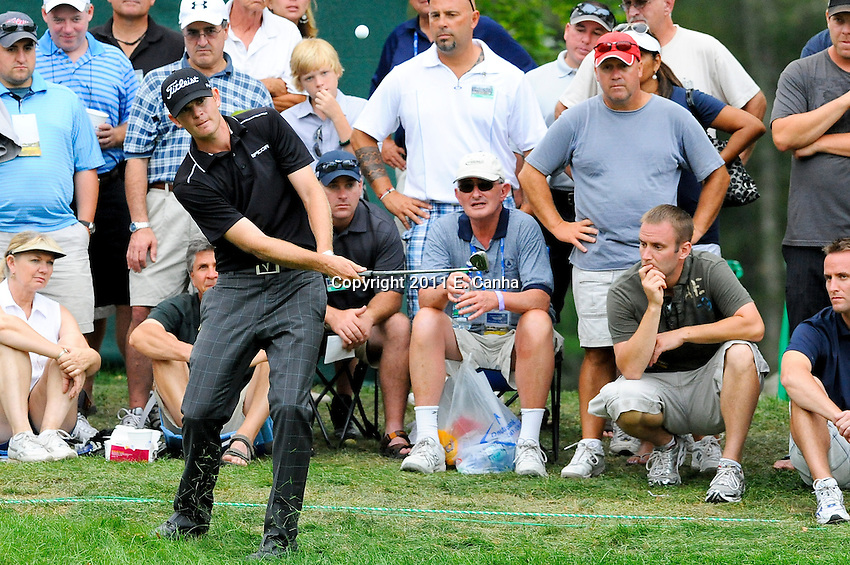 Championship Round, 2011 Deutsche Bank Championship, PGA Tour, FedEx Cup Playoffs