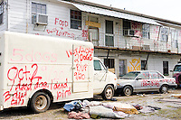 The city of New Orleans on November 25, 2005.