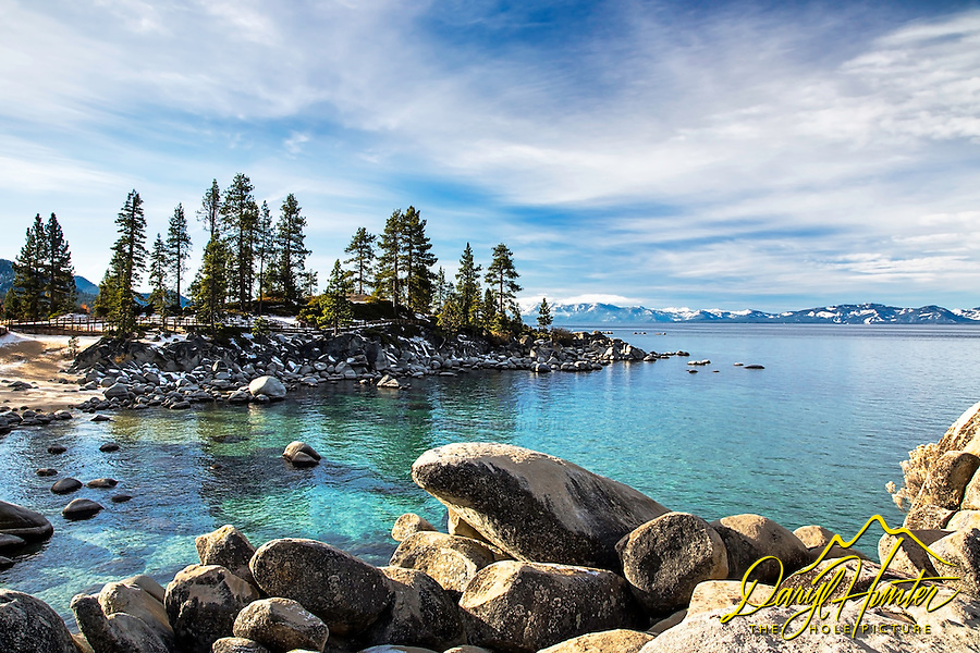 Sand Harbor at Lake Tahoe.