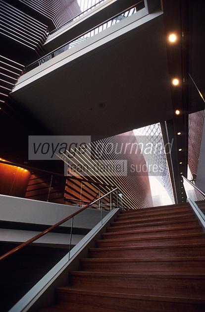 Amérique/Amérique du Nord/USA/Etats-Unis/Vallée du Delaware/Pennsylvanie/Philadelphie : Le Kimmel Center dessiné par l'architecte Rafael Vinoly
