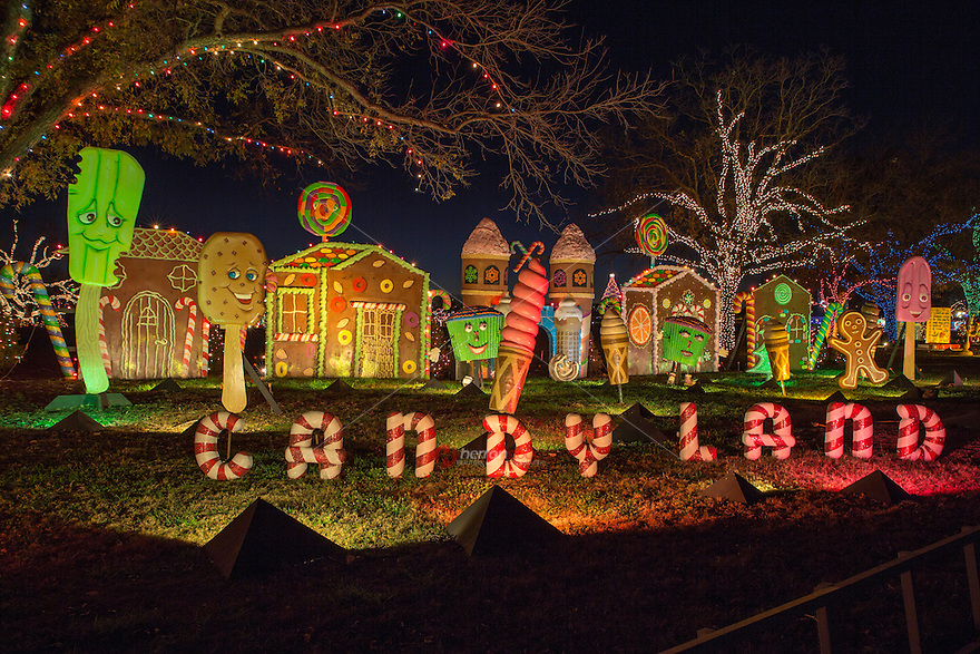 Austin Trail of Lights much-loved, mile-long display of lights, candy scenes and entertainment is among the children's favorite displays