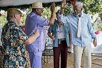 JUST GETTING STARTED (2017)<br /> MORGAN FREEMAN (R)<br /> *Filmstill - Editorial Use Only*<br /> CAP/FB<br /> Image supplied by Capital Pictures