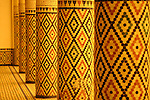 Columns in the Marrakesh Museum in Marrakesh, Morocco.