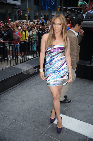 Jennifer Lopez at the unveiling of the 'Be Extraordinary' billboard for the Boys & Girls Clubs Youth Advocacy Campaign in Times Square in New York City. June 10, 2010 Credit: Dennis Van Tine/MediaPunch