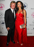 BEVERLY HILLS, CA, USA - OCTOBER 11: Nigel Lythgoe, Sofia Milos arrive at the 2014 Carousel Of Hope Ball held at the Beverly Hilton Hotel on October 11, 2014 in Beverly Hills, California, United States. (Photo by Celebrity Monitor)
