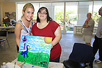 General Hospital Kristen Alderson paints with Fida and donates time at SoapFest's Celebrity Weekend - Art for Autism when the actors & kids make paintings for auction to benefit Autism on November 10, 2012 Marco Island, Florida. For info www.autism-society.org or www.autismspeaks.org. (Photo by Sue Coflin/Max Photos)