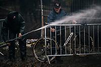 bike wash<br /> <br /> Men's race<br /> Superprestige Asper-Gavere 2018 (BEL)