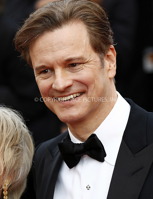 WWW.ACEPIXS.COM<br /> <br /> May 16 2016, Cannes<br /> <br /> Colin Firth attending the premiere of 'Loving' at the annual 69th Cannes Film Festival at Palais des Festivals on May 16, 2016 in Cannes, France.<br /> <br /> By Line: Famous/ACE Pictures<br /> <br /> <br /> ACE Pictures, Inc.<br /> tel: 646 769 0430<br /> Email: info@acepixs.com<br /> www.acepixs.com