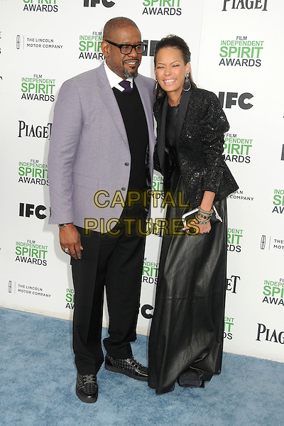 1 March 2014 - Santa Monica, California - Forest Whitaker, Keisha Whitaker. 2014 Film Independent Spirit Awards - Arrivals held at Santa Monica Beach. <br /> CAP/ADM/BP<br /> &copy;Byron Purvis/AdMedia/Capital Pictures