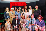 Tim Landers, back Rt, director of ' Act Up Drama Group ' with the cast of  ' Night of Stage&Screen ' ahead of their performance in the Ballymac bar, Tralee last Friday evening.