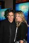 Ben Stiller and wife Christine Tayler at the New York Screening of The Cove, Cinema 2, NYC. (Photo by Sue Coflin/Max Photos)