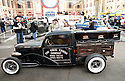 LONDON INTERNATIONAL CLASSIC AND CUSTOM SHOW  - Alexandra Palace  - 26.2.12.all custom fans need catered for including this unusual hearse...Picture by Gavin Rodgers/ Pixel8000. 07917221968