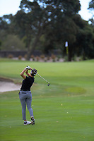 Marina Ito plays to the 14th. Day two of the Jennian Homes Charles Tour / Brian Green Property Group New Zealand Super 6s at Manawatu Golf Club in Palmerston North, New Zealand on Friday, 6 March 2020. Photo: Dave Lintott / lintottphoto.co.nz