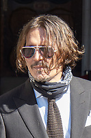 JUL 10 Johnny Depp at The Royal Courts of Justice, London, UK
