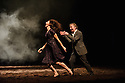 "London, UK. 14.04.2015. Tanztheater Wuppertal Pina Bausch presents ""Auf dem Gebirge hat man ein Geschrei gehort"", at Sadler's Wells, London, UK. Photograph © Jane Hobson.."