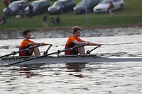 Race: 92  Event: J14 2x   Final A <br /> <br /> Junior Inter Regional Regatta 2018<br /> <br /> To purchase this photo, or to see pricing information for Prints and Downloads, click the blue 'Add to Cart' button at the top-right of the page.