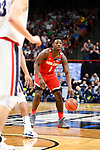 BOISE, ID - MARCH 17: The Ohio State Buckeyes take on the Gonzaga Bulldogs in the second round of the 2018 NCAA Men's Basketball Tournament held at Taco Bell Arena on March 17, 2018 in Boise, Idaho. (Photo by Brett Wilhelm/NCAA Photos via Getty Images)