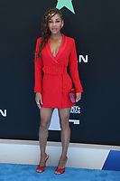 LOS ANGELES, CA - JUNE 23: Meagan Good at the 2019 BET Awards at the Microsoft Theater in Los Angeles on June 23, 2019. Credit: Faye Sadou/MediaPunch