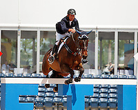 Leap of Joy ridden by Charlie Jacobs,  USEF trials#2 Wellington Florida. 3-22-2012