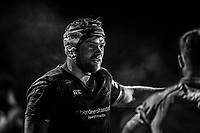 Danny Kenny of London Scottish during the Greene King IPA Championship match between London Scottish Football Club and Jersey Reds at Richmond Athletic Ground, Richmond, United Kingdom on 16 March 2018. Photo by David Horn.