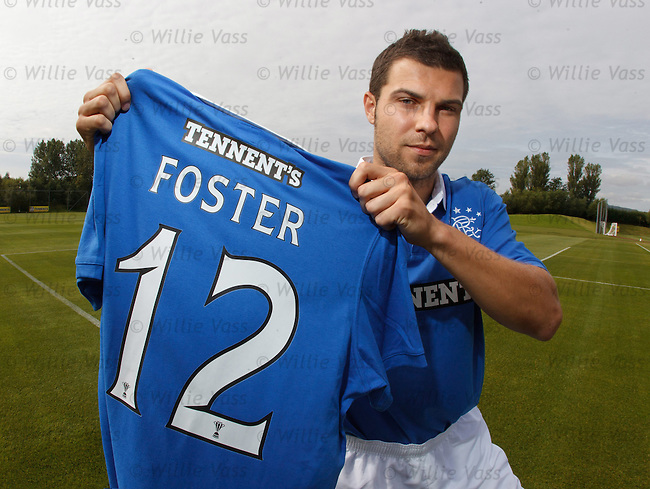 Richard Foster signs for the Champions in a surprise deal to wear the number 12 jersey