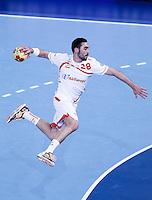 Spain's Valero Rivera Folch during 23rd Men's Handball World Championship preliminary round match.January 14,2013. (ALTERPHOTOS/Acero) /NortePhoto