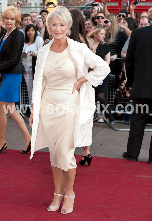 **ALL ROUND PICTURES FROM SOLARPIX.COM**.**WORLDWIDE SYNDICATION RIGHTS**.The UK premiere of State Of Play. Held at the Empire, Leicester Square, London, UK. 21 April 2009..This pic: Helen Mirren..JOB REF: 8856 RSR    DATE: 21_04_2009.**MUST CREDIT SOLARPIX.COM OR DOUBLE FEE WILL BE CHARGED**.**ONLINE USAGE FEE GBP 50.00 PER PICTURE - NOTIFICATION OF USAGE TO PHOTO @ SOLARPIX.COM**.**CALL SOLARPIX : +34 952 811 768 or LOW RATE FROM UK 0844 617 7637**