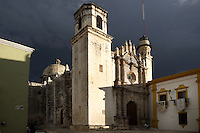 Church of San Francisco, 16th century, historic centre of Campeche, Yucatan, Mexico Picture by Manuel Cohen