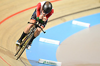 Picture by SWpix.com - 02/03/2018 - Cycling - 2018 UCI Track Cycling World Championships, Day 3 - Omnisport, Apeldoorn, Netherlands - Men's Individual Pursuit - Ivo Oliveira of Portugal