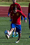 Spainsh Koke Resurreccion during the training of the spanish national football team in the city of football of Las Rozas in Madrid, Spain. November 10, 2016. (ALTERPHOTOS/Rodrigo Jimenez)