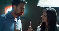 Lying and Stealing (2018) <br /> Emily Ratajkowski &amp; Theo James<br /> *Filmstill - Editorial Use Only*<br /> CAP/RFS<br /> Image supplied by Capital Pictures