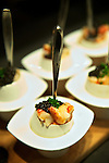 Chef John Higgins, George Brown Chef School. Composition from Canadian Lobster and Sturgeon Caviar