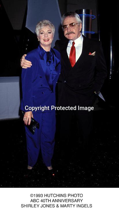 ©1993 HUTCHINS PHOTO.ABC 40TH ANNIVERSARY.SHIRLEY JONES & MARTY INGELS