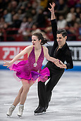 23rd March 2018, Milan, Italy; ISU World Figure Skating Championships  Milano 2018; Anna Capellini and Luca Lanotte (Italy)