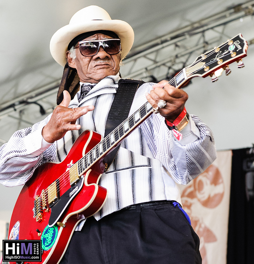 Little Freddie King performs at Voodoo Fest 2012 in New Orleans, LA.
