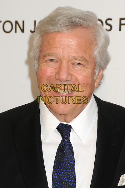 Robert Kraft.21st Annual Elton John Academy Awards Viewing Party held at West Hollywood Park, West Hollywood, California, USA..February 24th, 2013.oscars headshot portrait black white tie blue shirt.CAP/ADM/BP.©Byron Purvis/AdMedia/Capital Pictures.